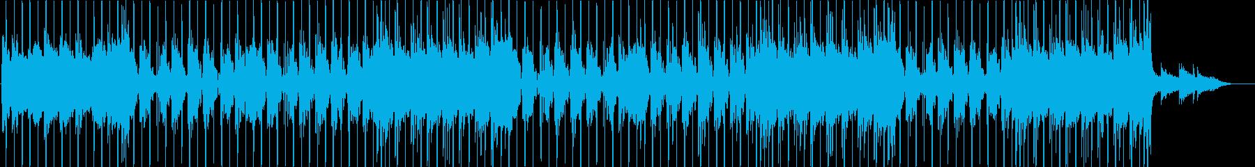洋楽、チルアウト、R&Bビート♫の再生済みの波形