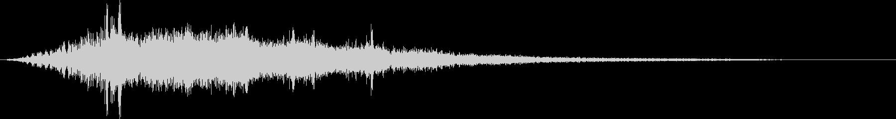 ゲーム演出_電子音(SF映画・ホラー)の未再生の波形