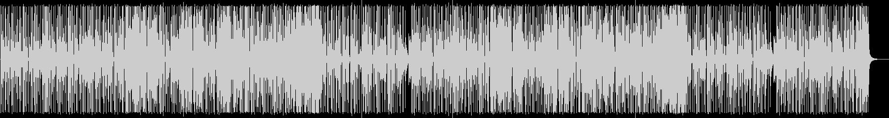 YouTube サックス・ファンクの未再生の波形