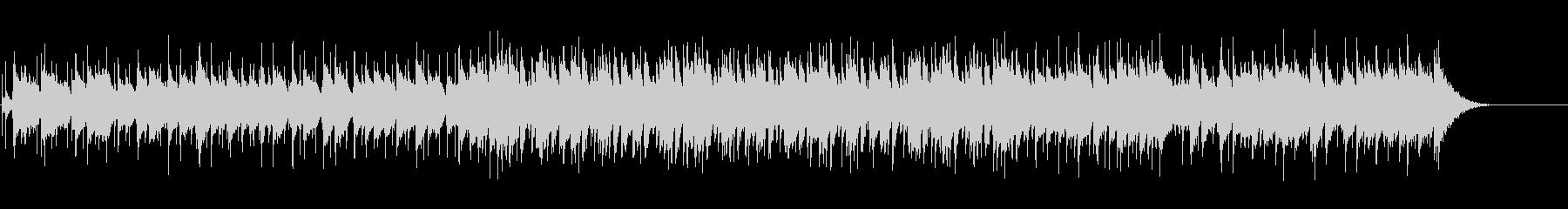 キメ細やかなセンチメンタル・バラードの未再生の波形