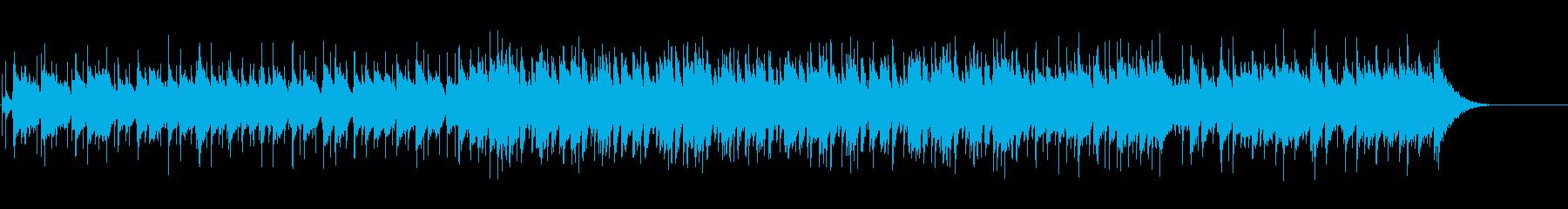 キメ細やかなセンチメンタル・バラードの再生済みの波形