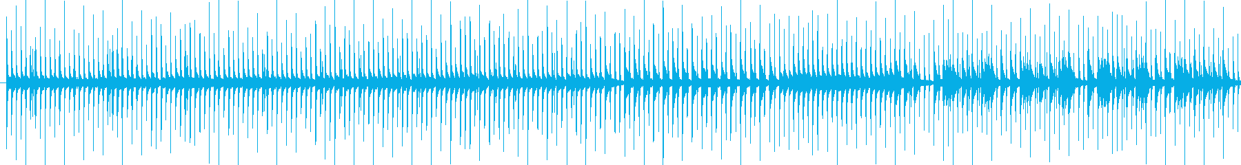 打楽器をメインにした、わくわくした弾む…の再生済みの波形