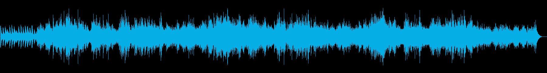 サウンドスケープをリラックスさせる...の再生済みの波形