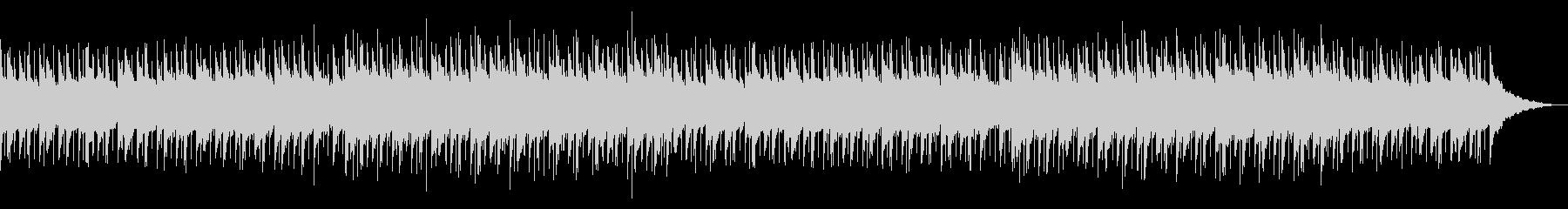 穏やかで綺麗なピアノアコースティックの未再生の波形