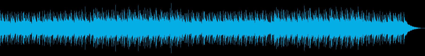 穏やかで綺麗なピアノアコースティックの再生済みの波形