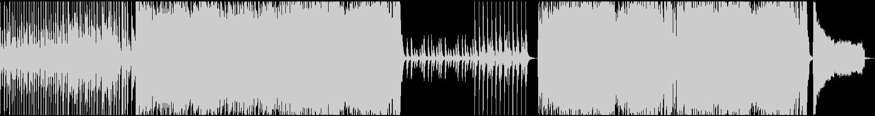 ポップロックでインスピレーションな曲の未再生の波形
