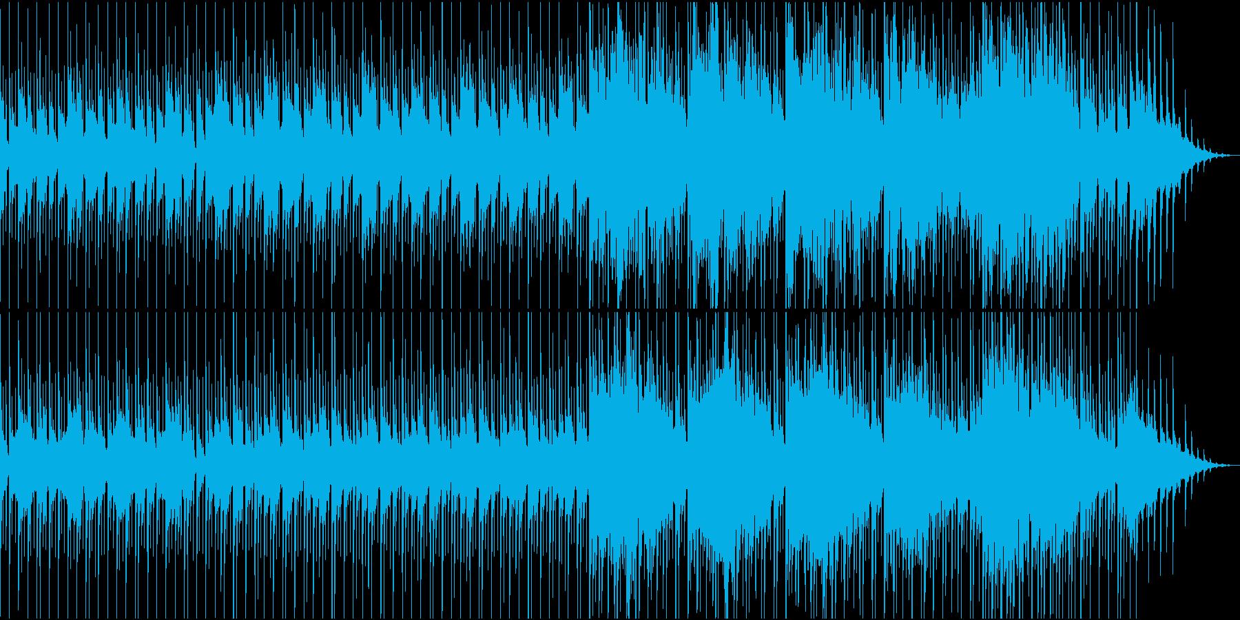 物悲しい雰囲気のスローテンポ和風曲の再生済みの波形