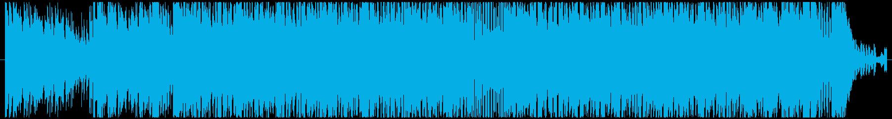 シタールがメインのダンスチックな曲の再生済みの波形
