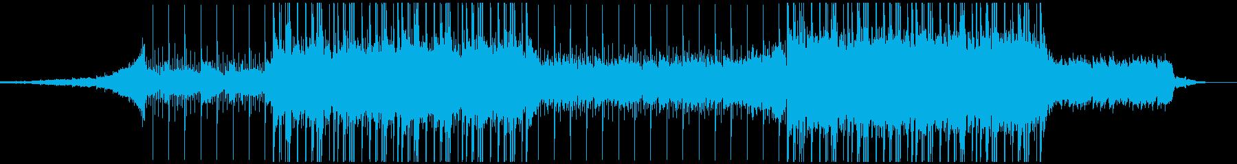 幻想的、ダークの再生済みの波形