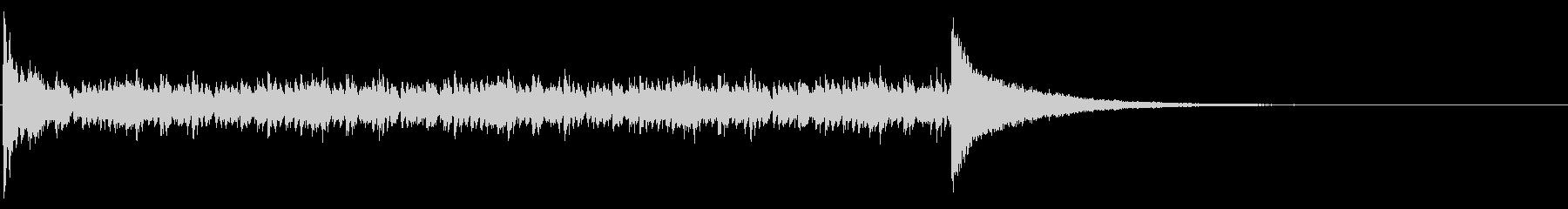 ドラムロール_9秒の未再生の波形