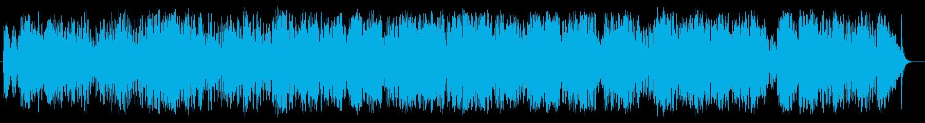 ピアノアルペジオ曲の再生済みの波形
