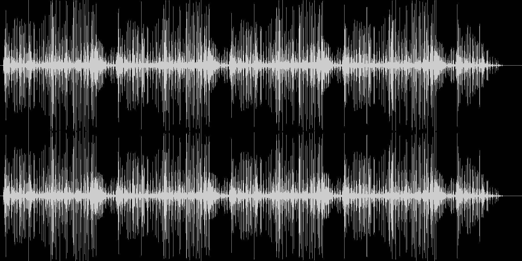 ブチブチ(火の音、ノイズ)の未再生の波形