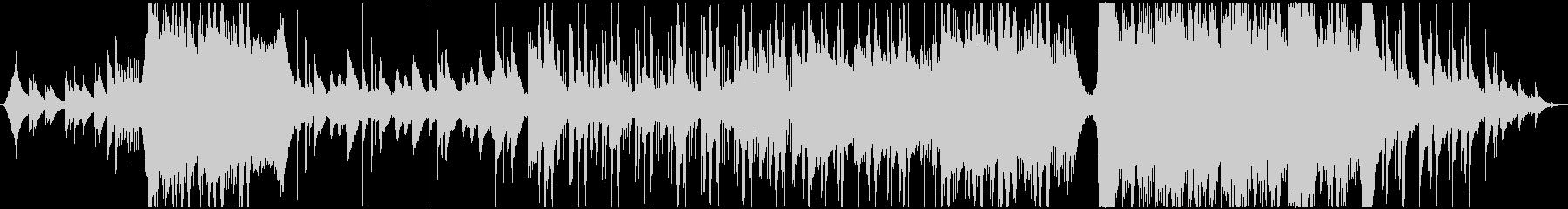 切ないJ-POPのミドルバラードの未再生の波形