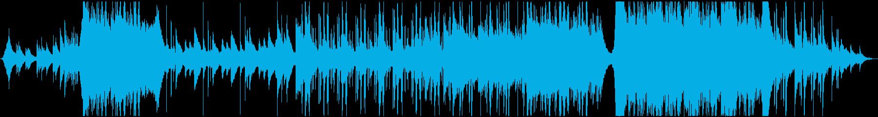 切ないJ-POPのミドルバラードの再生済みの波形