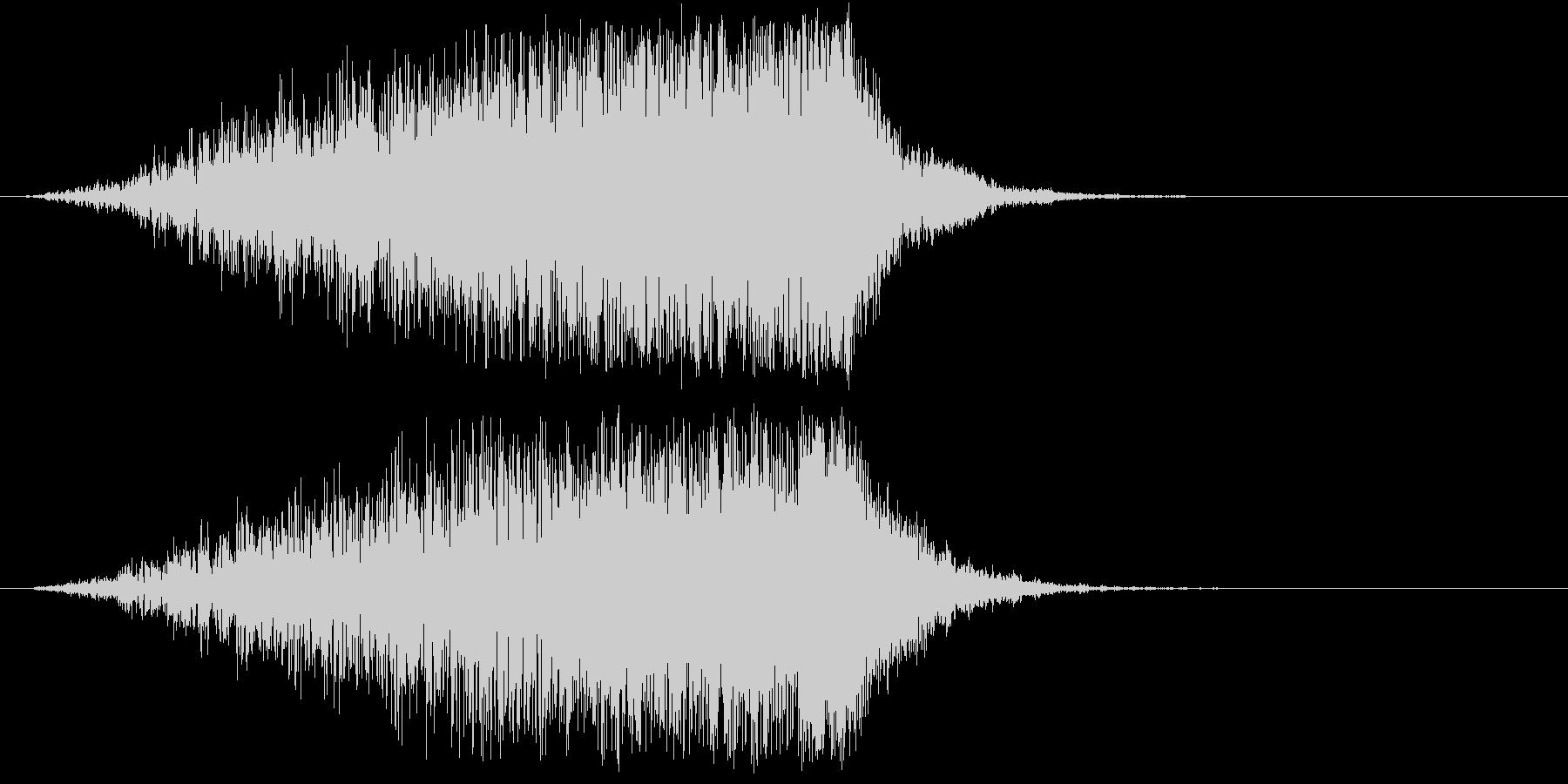 ホラー 近く 接近 恐怖 金属音 21の未再生の波形