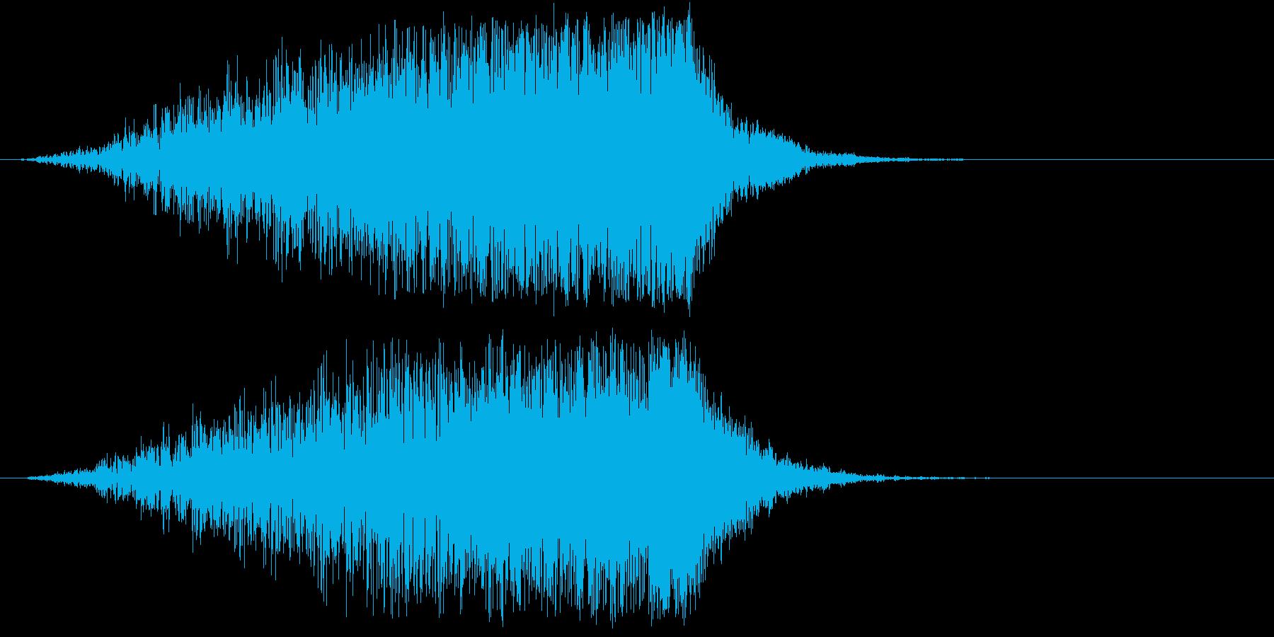 ホラー 近く 接近 恐怖 金属音 21の再生済みの波形