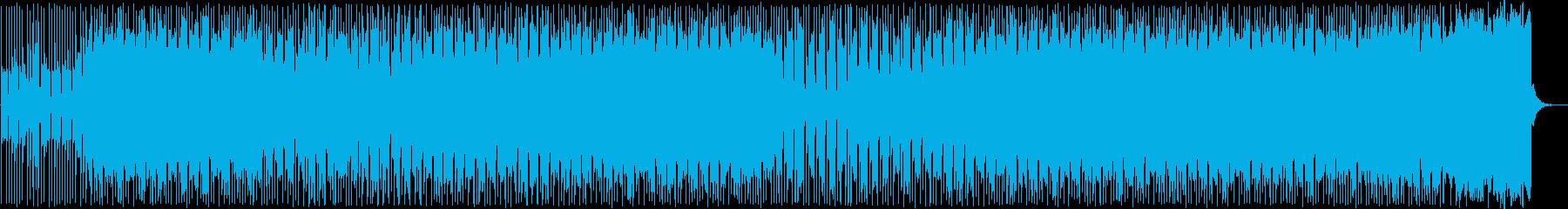 落ち着きのあるポップ調のギターサウンドの再生済みの波形
