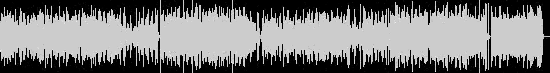 ボサノバスタイルのラテンフュージョンの未再生の波形