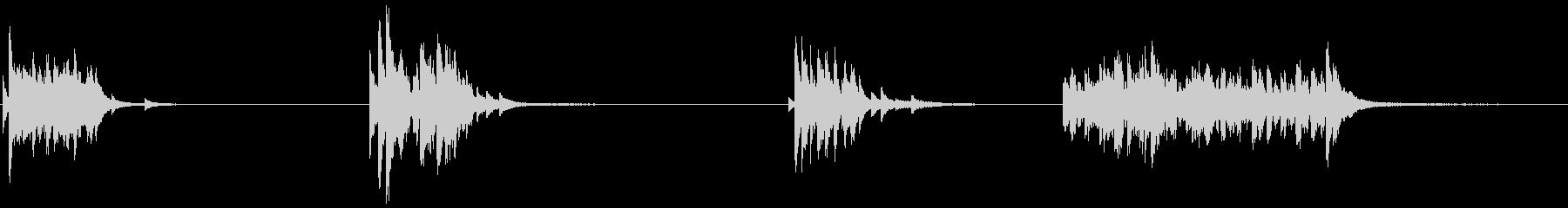 ドアベル、ストア、ショップ、リンギ...の未再生の波形