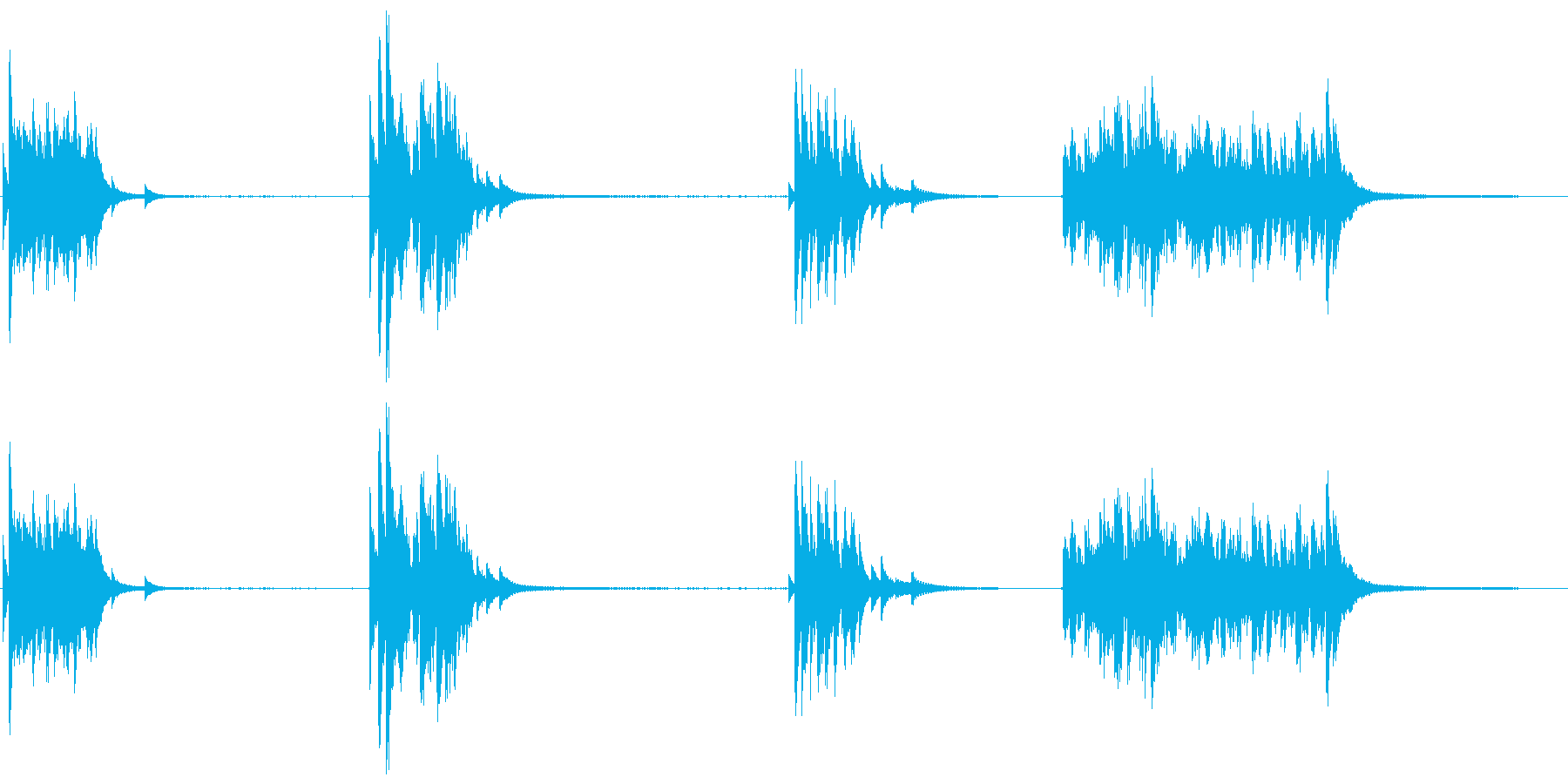 ドアベル、ストア、ショップ、リンギ...の再生済みの波形