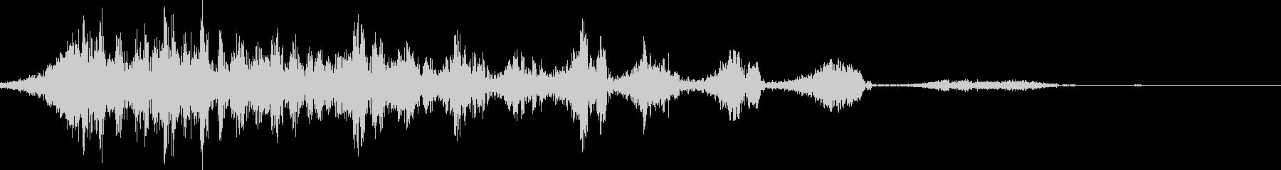 低マルチテキストウーッシュバイ2の未再生の波形