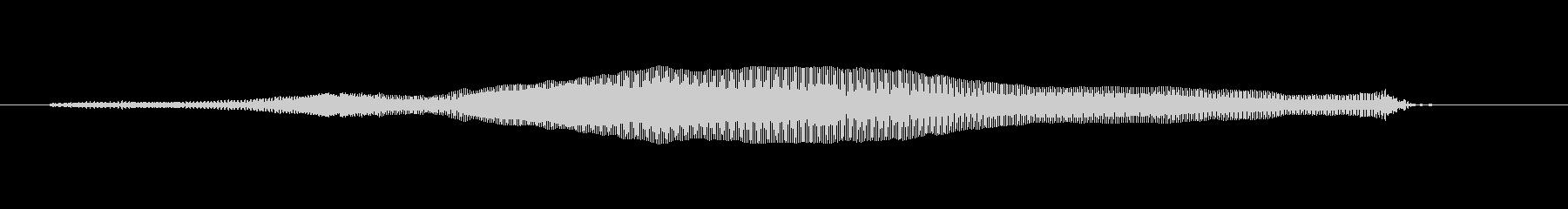 キャットミャウの未再生の波形