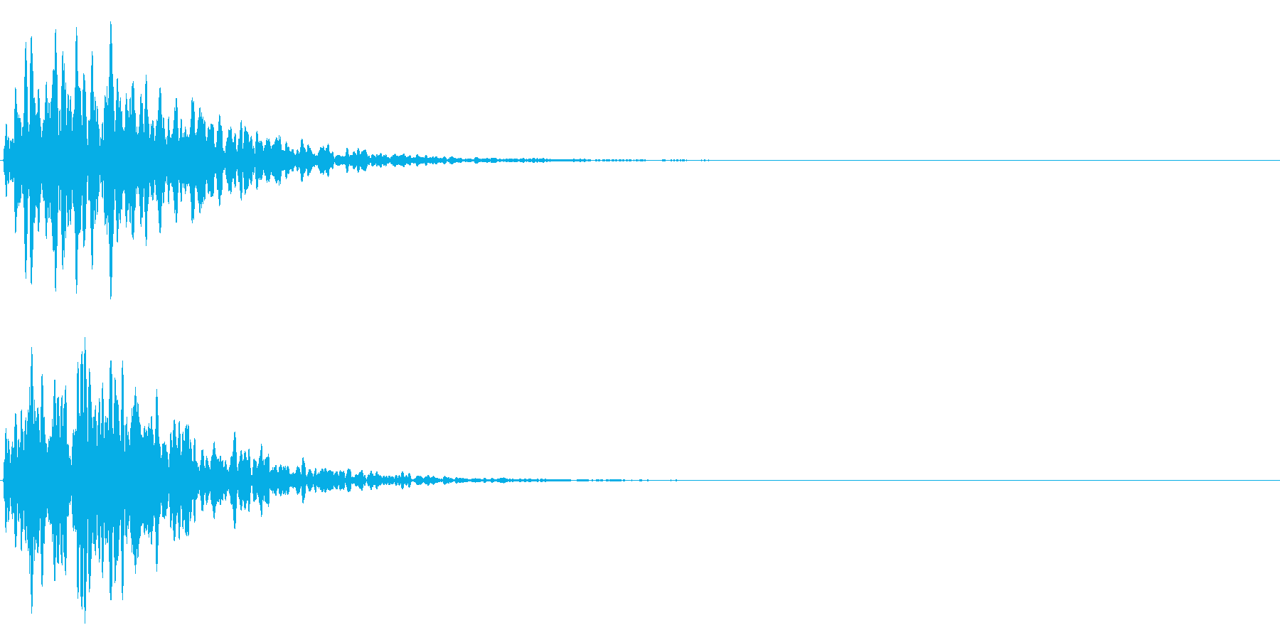 ゲームスタート、決定、ボタン音-073の再生済みの波形
