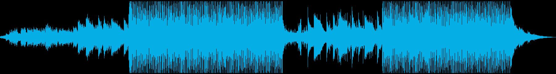 おしゃれな音色でやさしいメロディーの再生済みの波形