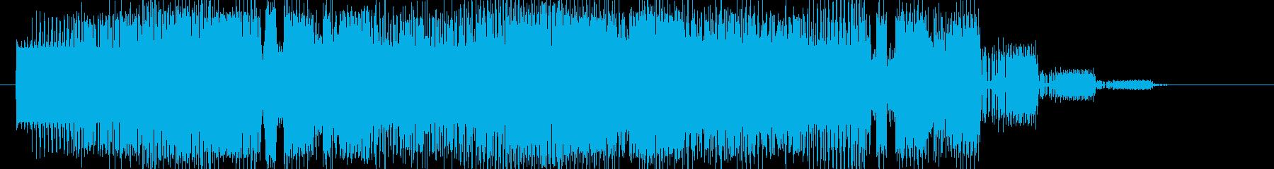素材 タンブルアンドライズアゲイン...の再生済みの波形