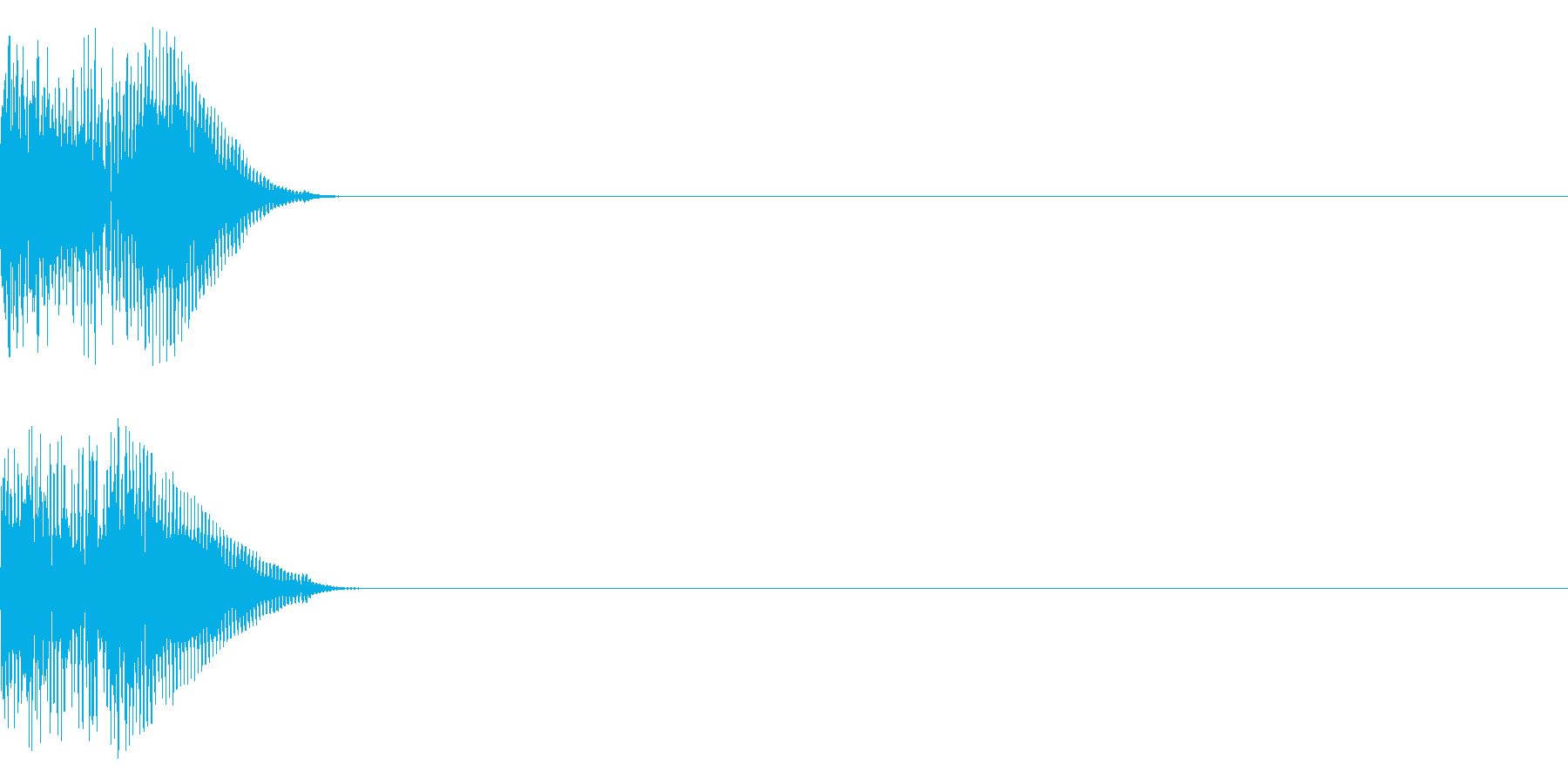 ドゥンーの再生済みの波形