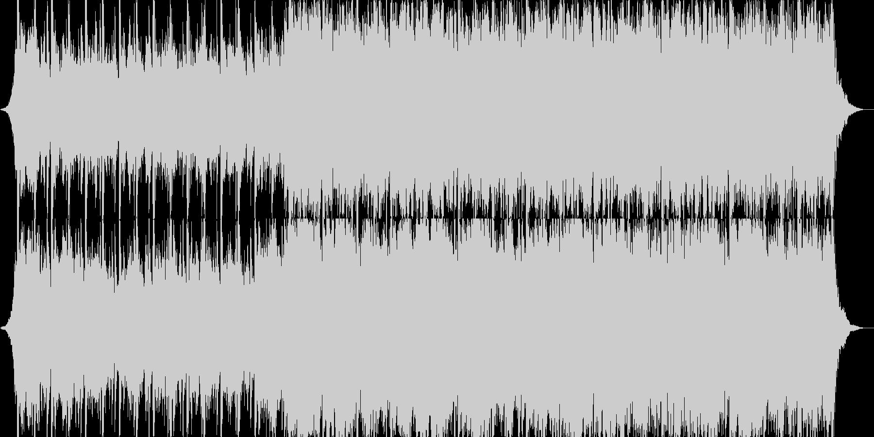 切ない旋律が特徴的なオーケストラバトル曲の未再生の波形