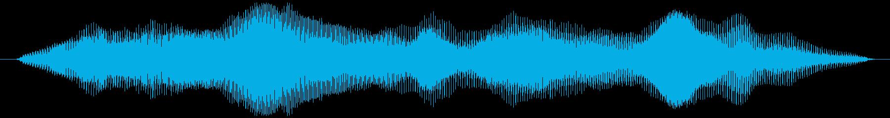 グラビティチューブ(下降、長め)ミョーンの再生済みの波形