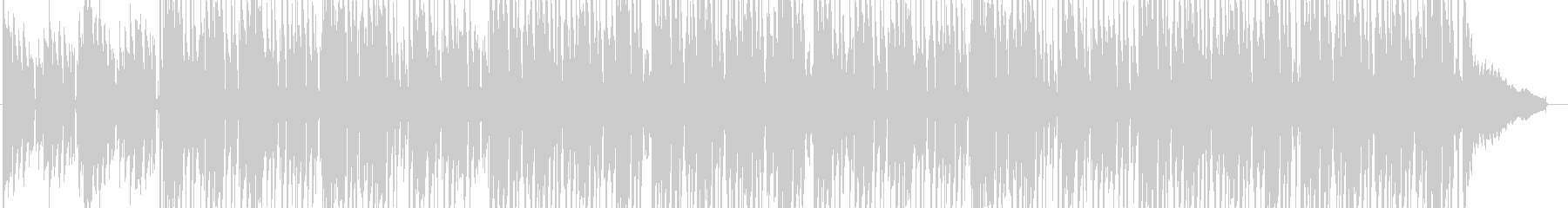 スパイ映画音楽の未再生の波形