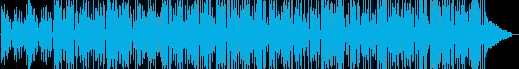 スパイ映画音楽の再生済みの波形