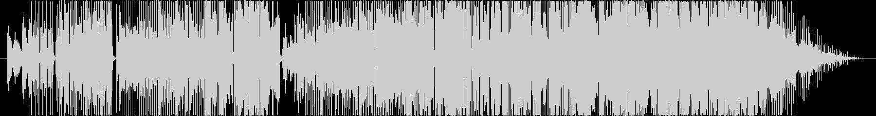 C-POPでレトロな曲の未再生の波形