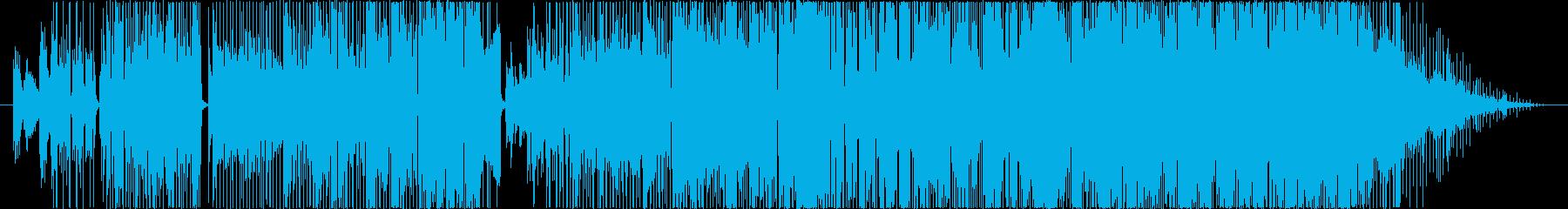 C-POPでレトロな曲の再生済みの波形