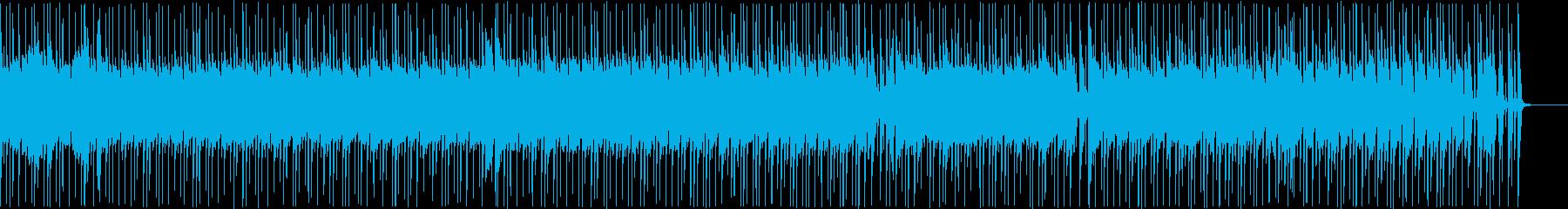 【メロディ抜き】陽気でお気楽な感じのBGの再生済みの波形