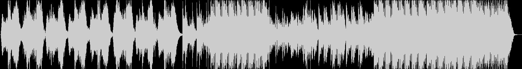 鐘が不気味なホラー系BGMの未再生の波形