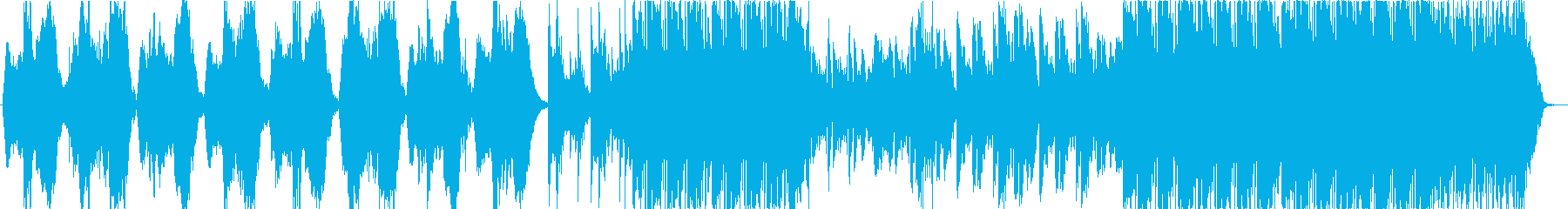 鐘が不気味なホラー系BGMの再生済みの波形