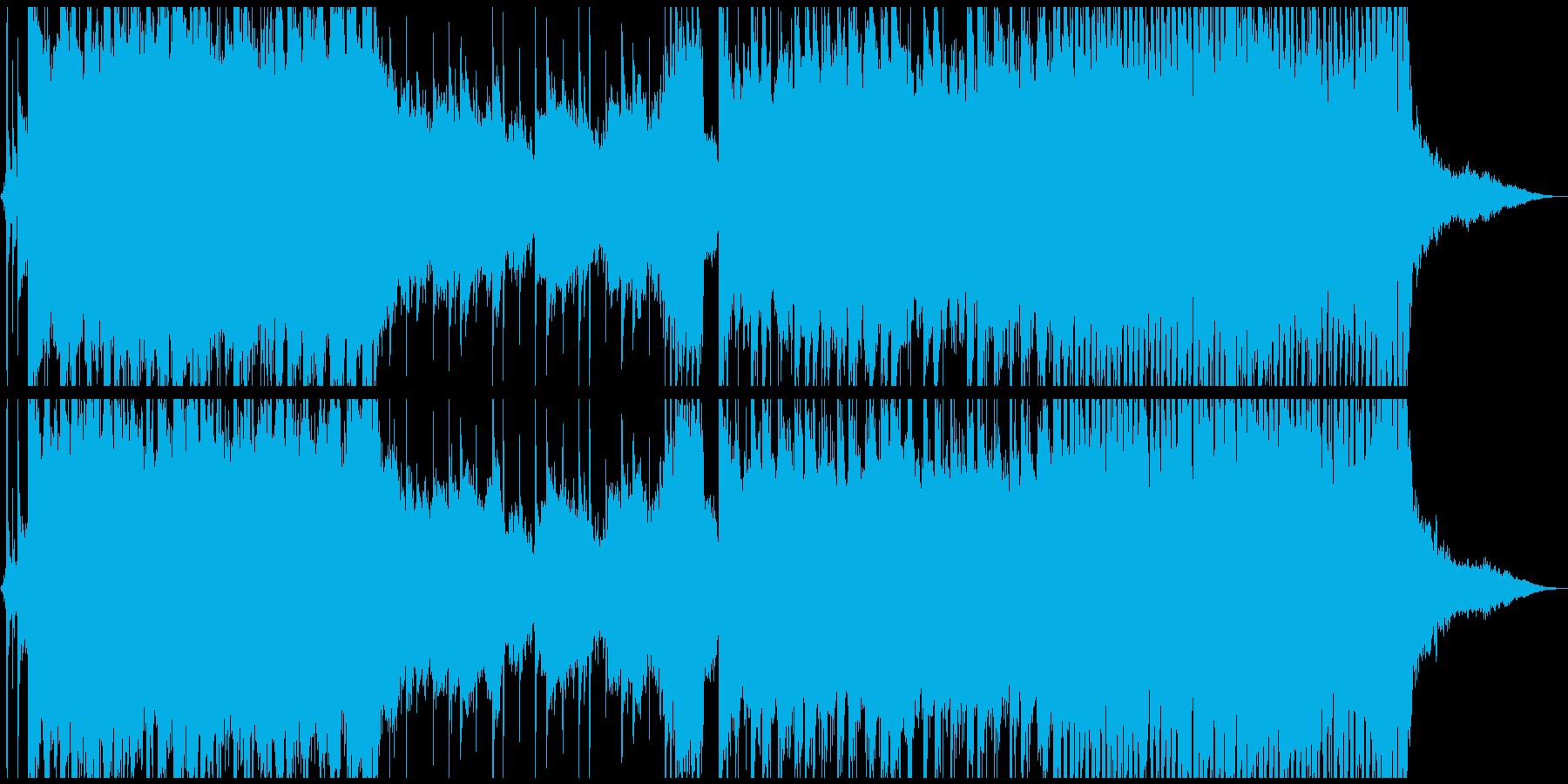 キラキラしたバラード 泣きのギターの再生済みの波形