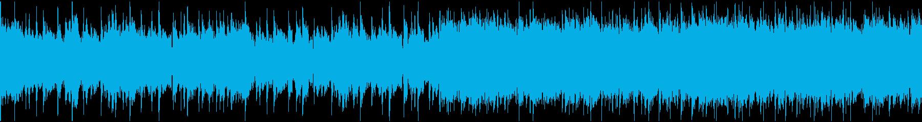 渋いグランジロック・生ギター・ループ2の再生済みの波形