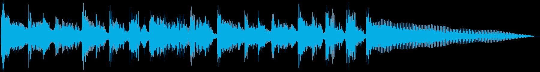 バーナードセグ1の再生済みの波形