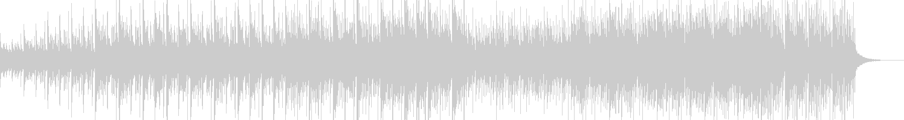 和風ほんわかBGMの未再生の波形
