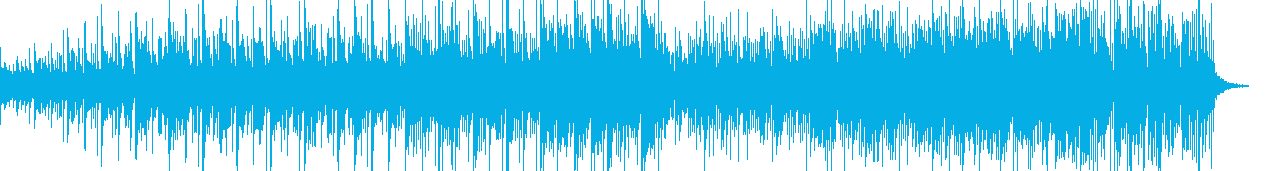 和風ほんわかBGMの再生済みの波形
