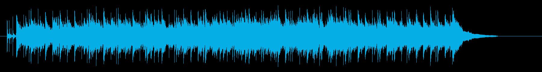 落着いた優しい感じのミディアム・バラードの再生済みの波形