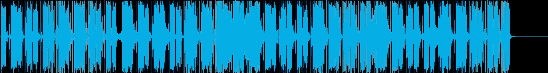 シリアスなシンセが印象的!インストですの再生済みの波形