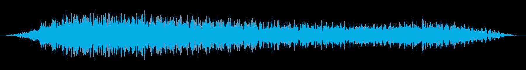 悪魔のうなり声1の再生済みの波形