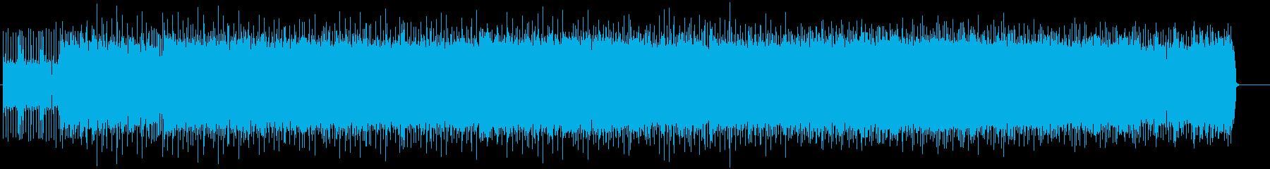 ワイルドなアメリカン・ハード・ロックの再生済みの波形