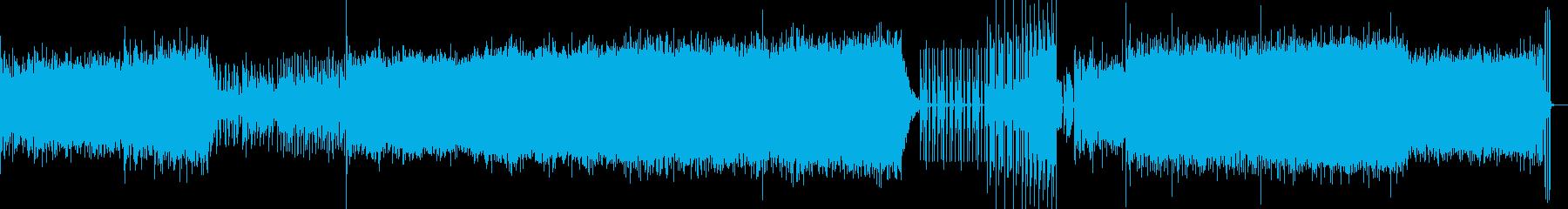 ノイズミュージック 不気味の再生済みの波形