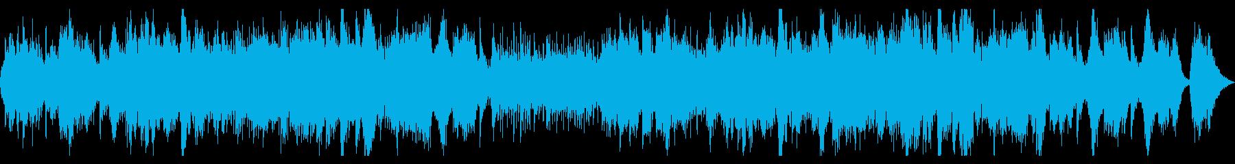 二胡を使ったアジア風感動バラードの再生済みの波形